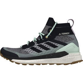 adidas TERREX Free Hiker Hiking Shoes Lightweight Women, lgh solid grey/legend ink/purple tint